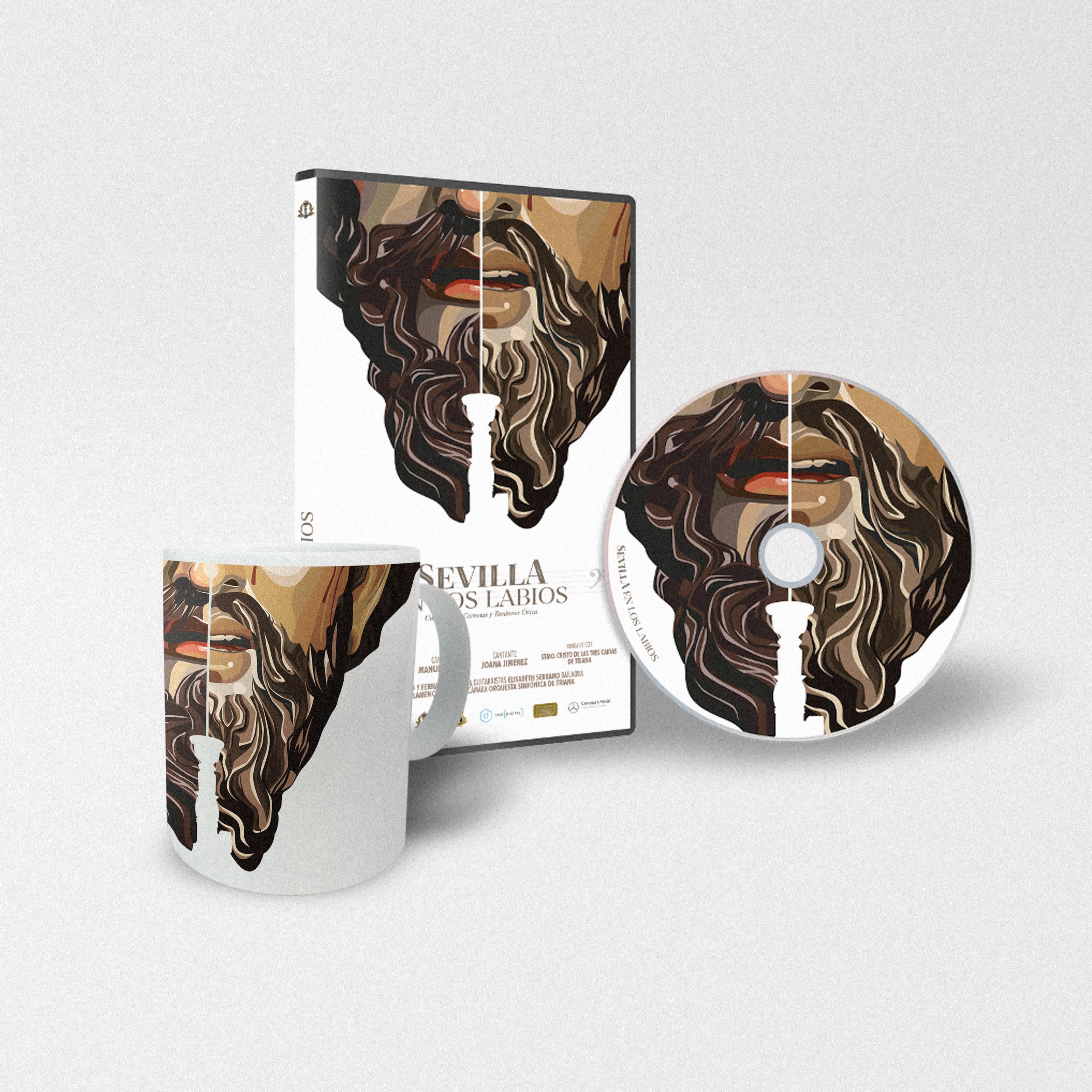 Cartel DVD+TAZA