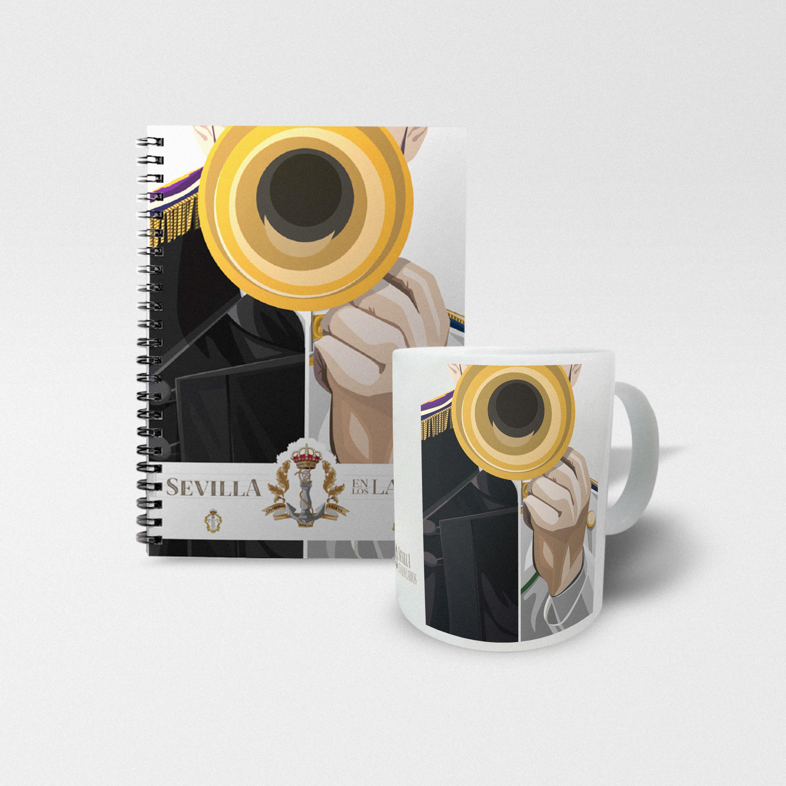 taza-musico+cuaderno